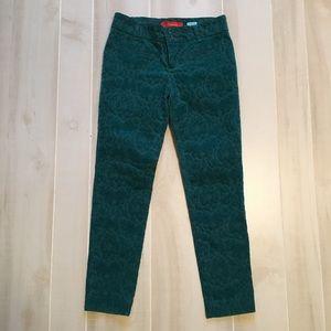 Anthropologie Cartonnier Textured Pants Size 2